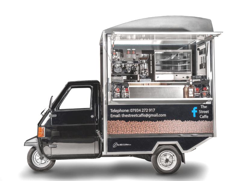 Mobile Coffee Van - Piaggio