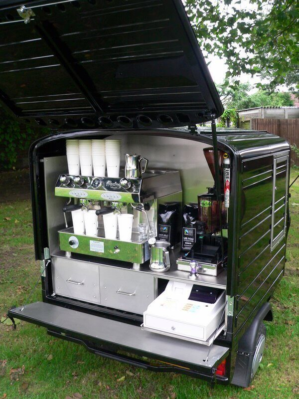 Ape 50 Electric - Coffee Cart