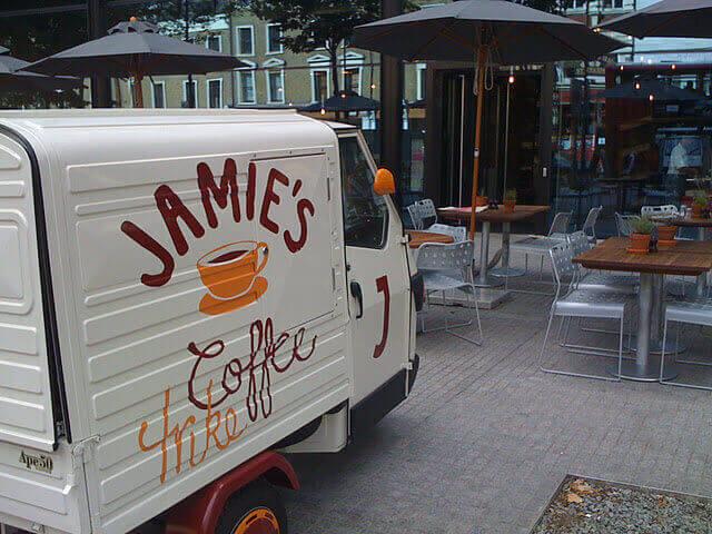 Ape 50 - Coffee Cart - Piaggio