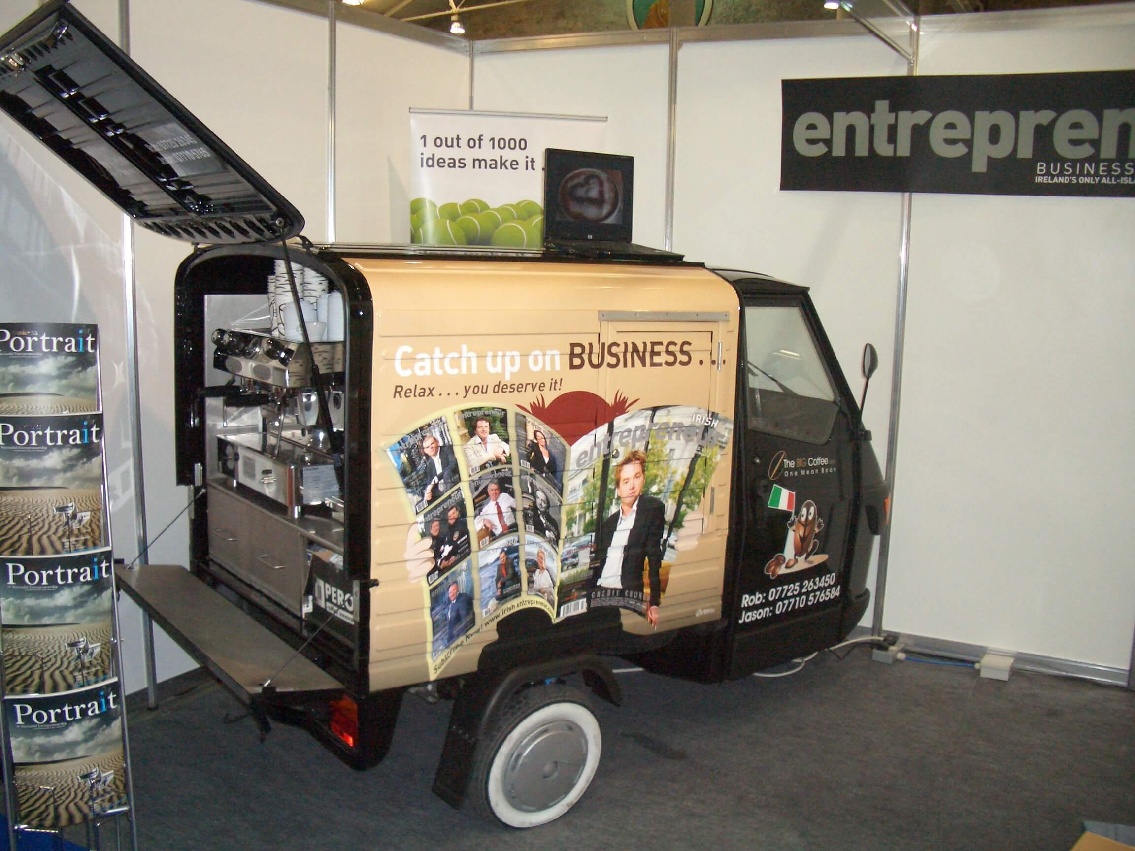 Ape 50 Electric - Coffee Cart