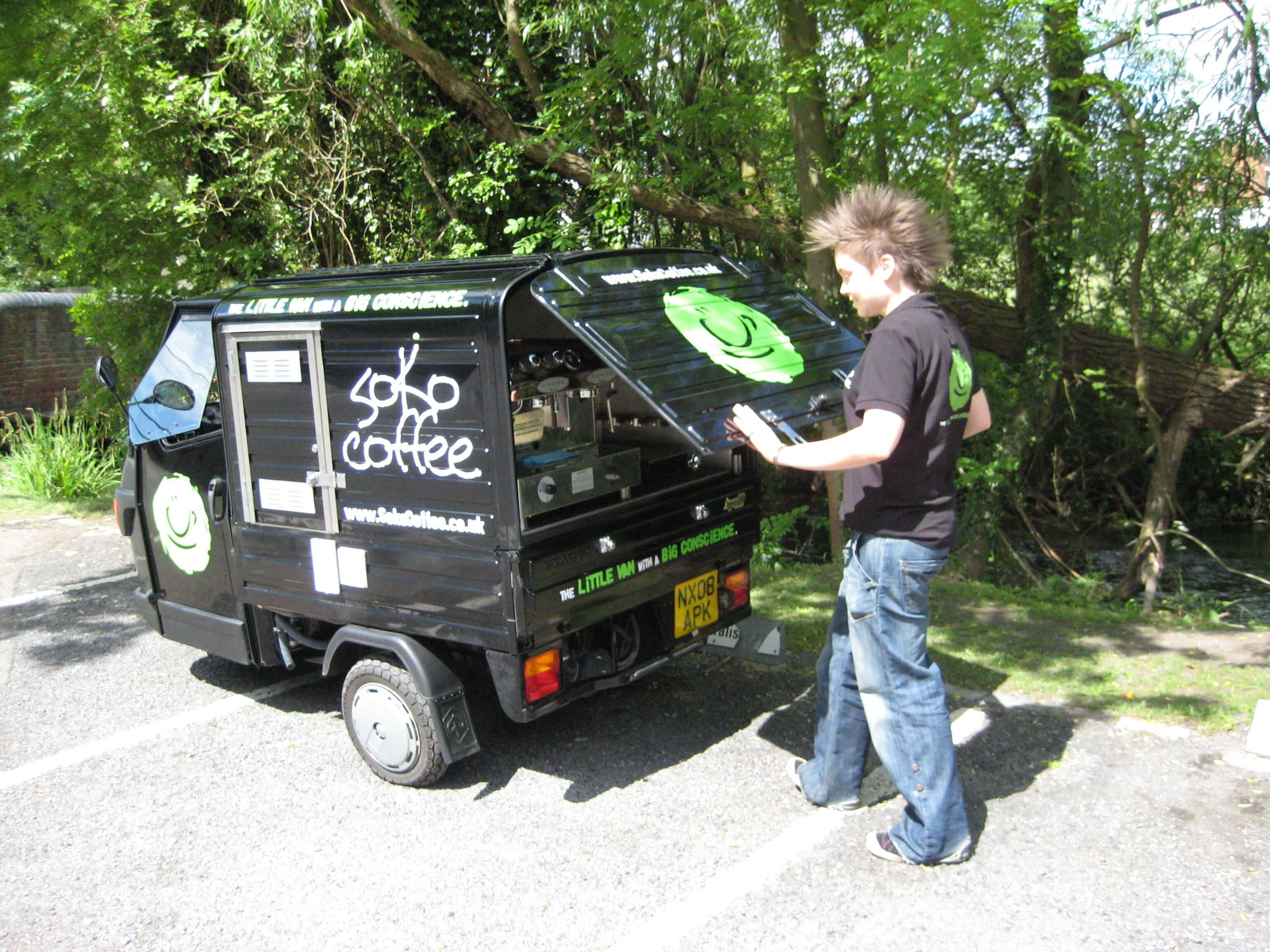 Ape 50 - Coffee Cart