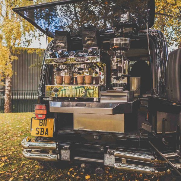 bespoke coffee, street food and mobile bar vehicle conversions