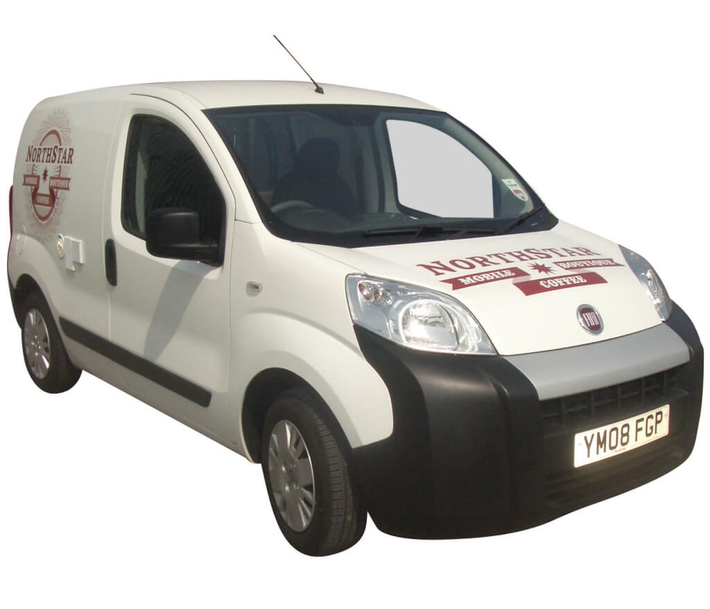 Coffee Van Conversion - Fiat Fiorino Conversion