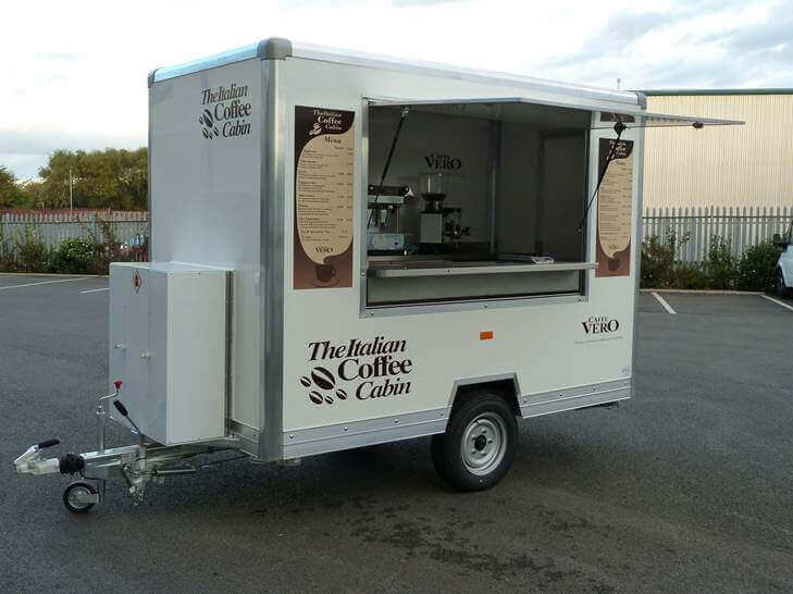 Coffee Cabin Conversion - Mobile Coffee