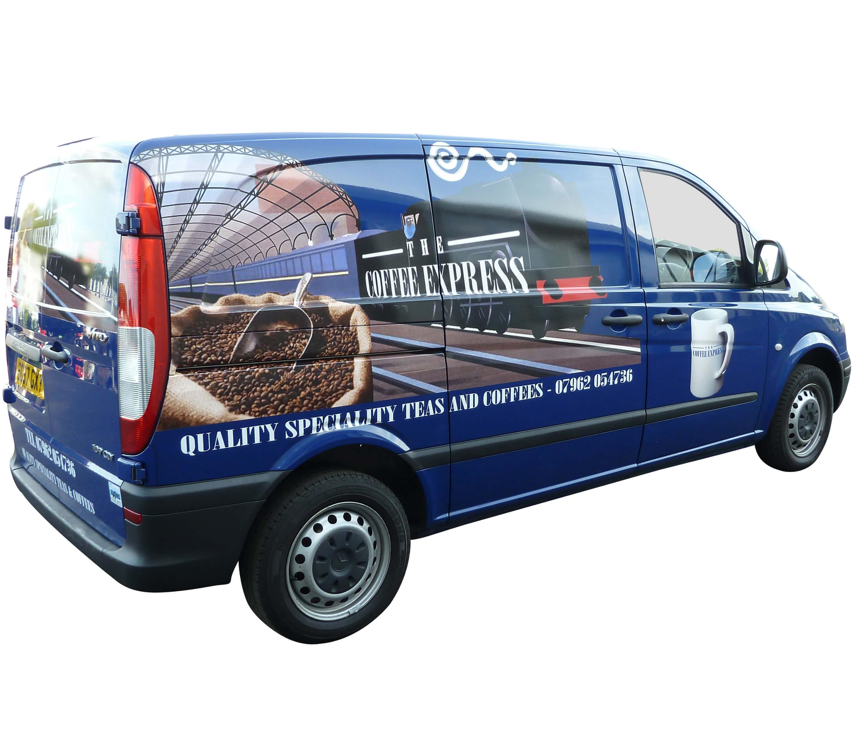 Coffee Van Conversion - Mercedes Vito Conversion