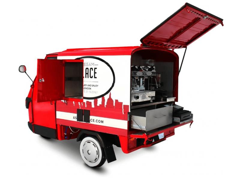 Mobile Coffee Van - Ape 50 - Piaggio