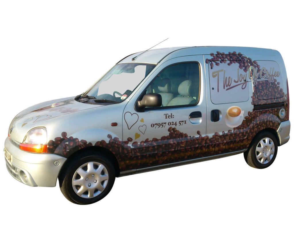 Coffee Van Conversion - Renault Kangoo Conversion