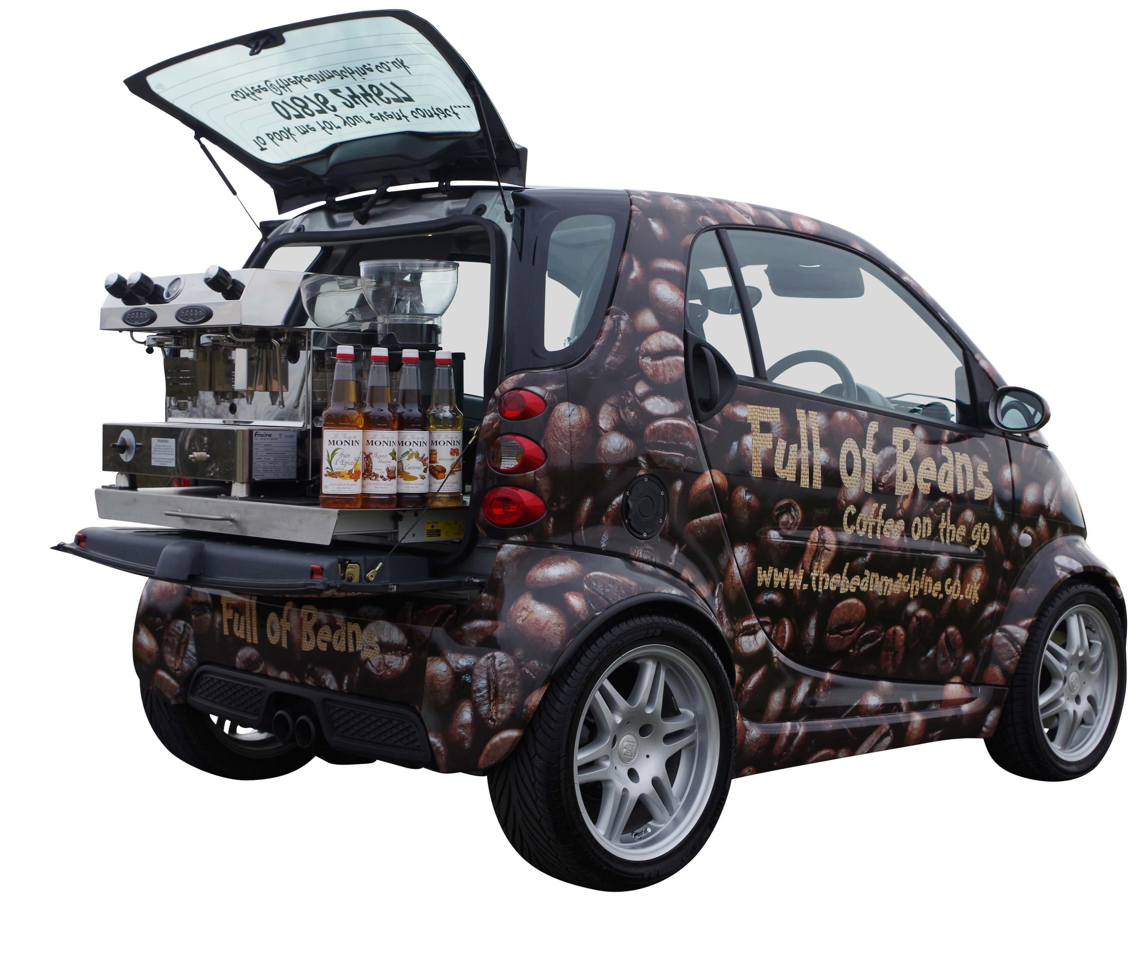Mobile Coffee Conversion - Mini - Car Conversion