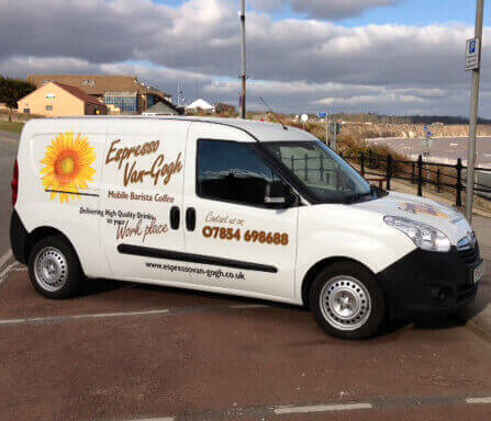 Coffee Van Conversion - Vauxhall Combo Conversion