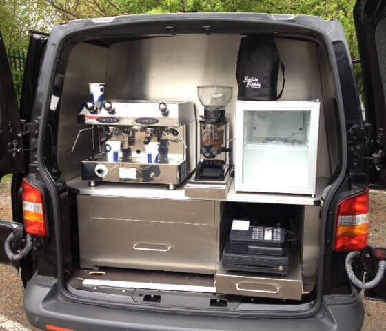 Coffee Van Conversion - VW Transporter Conversion