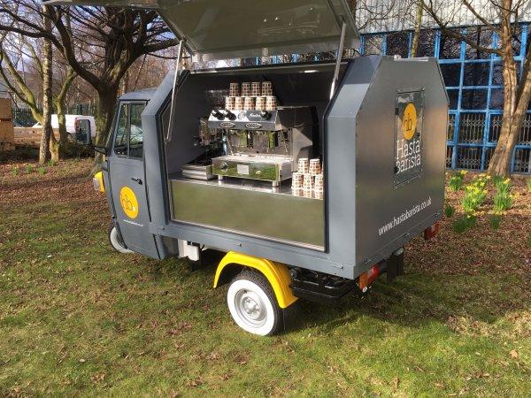 Mobile Coffee Bar - Piaggio Ape