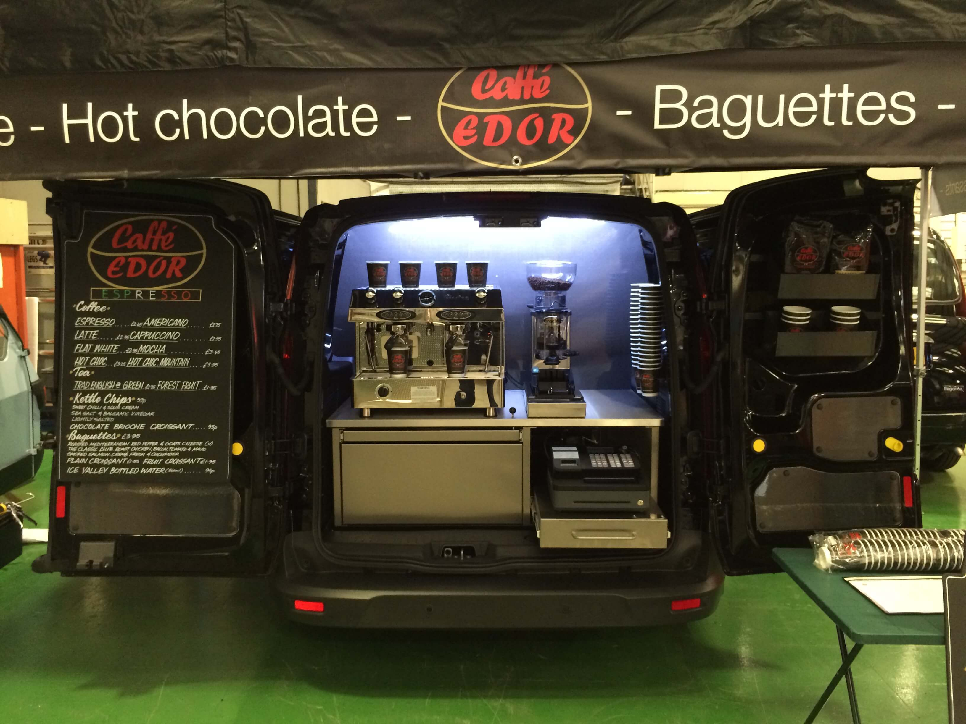 Ford Transit Coffee Van Conversion
