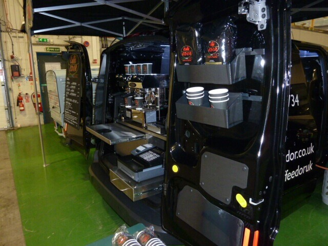 Ford Transit Coffee Van Conversion