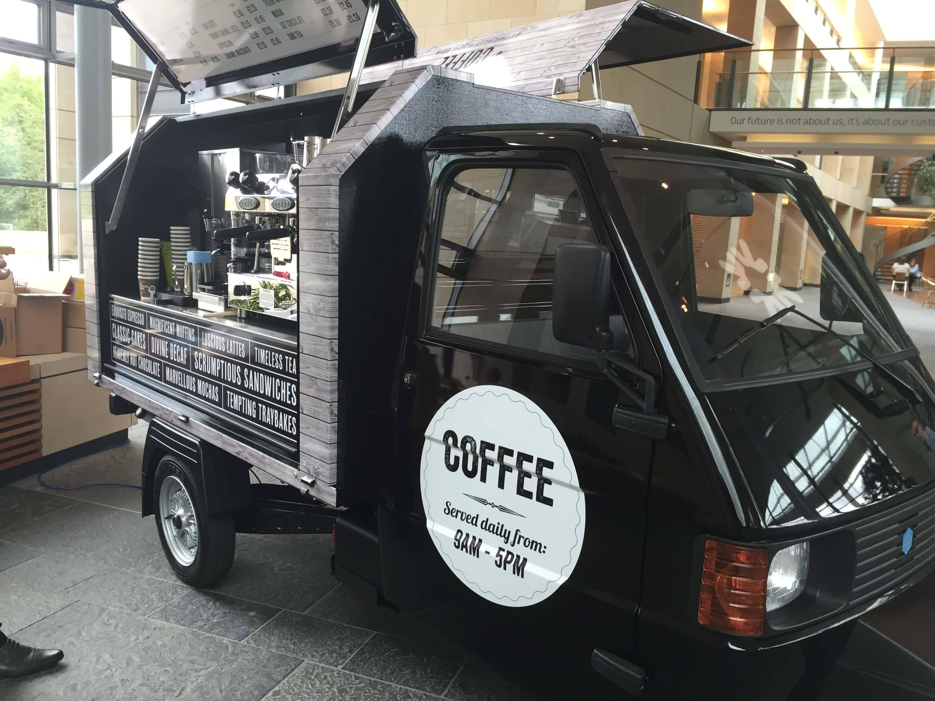 Ape Gull Wing - Coffee Van