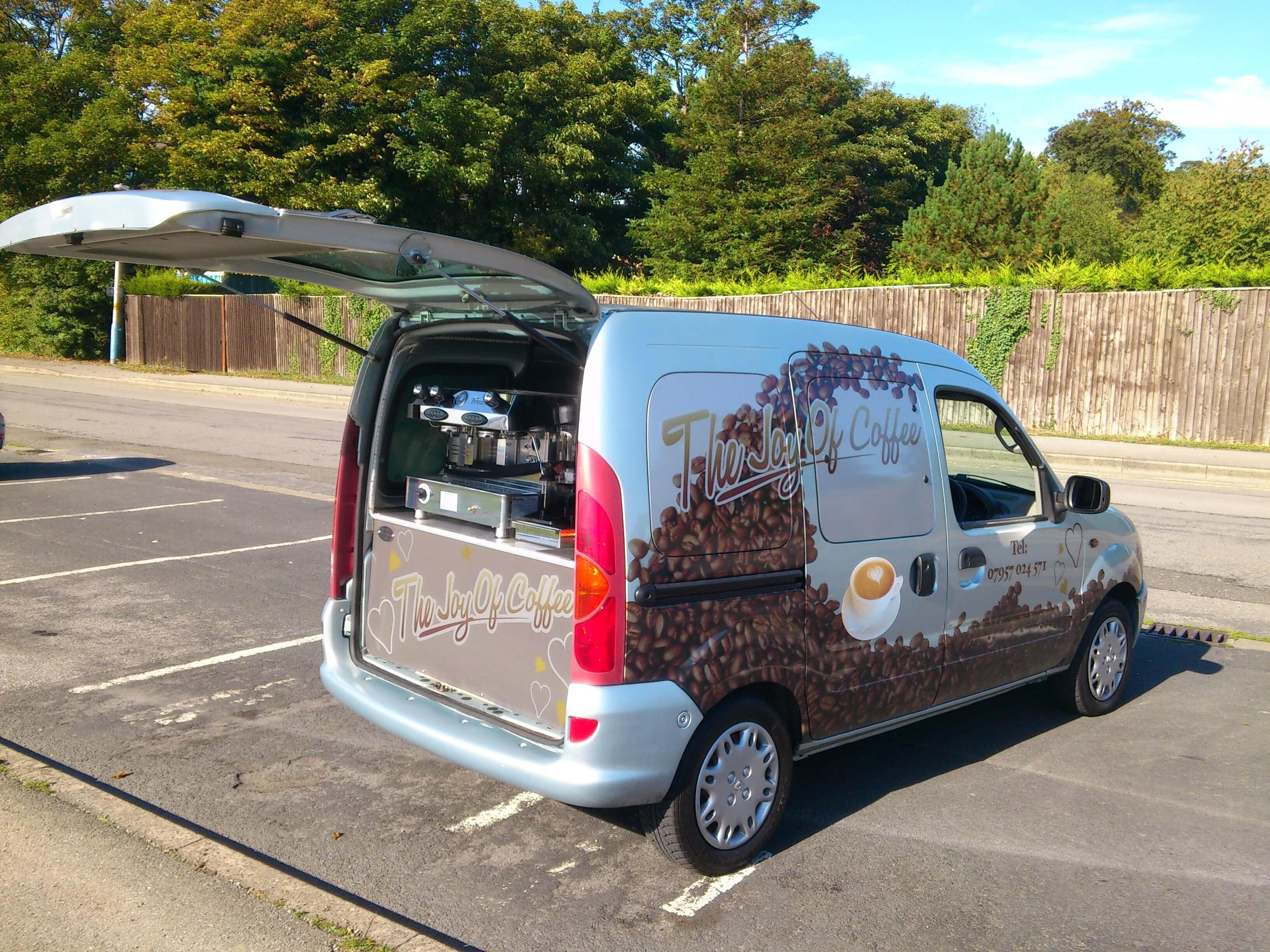Renault Kangoo Coffee Conversion