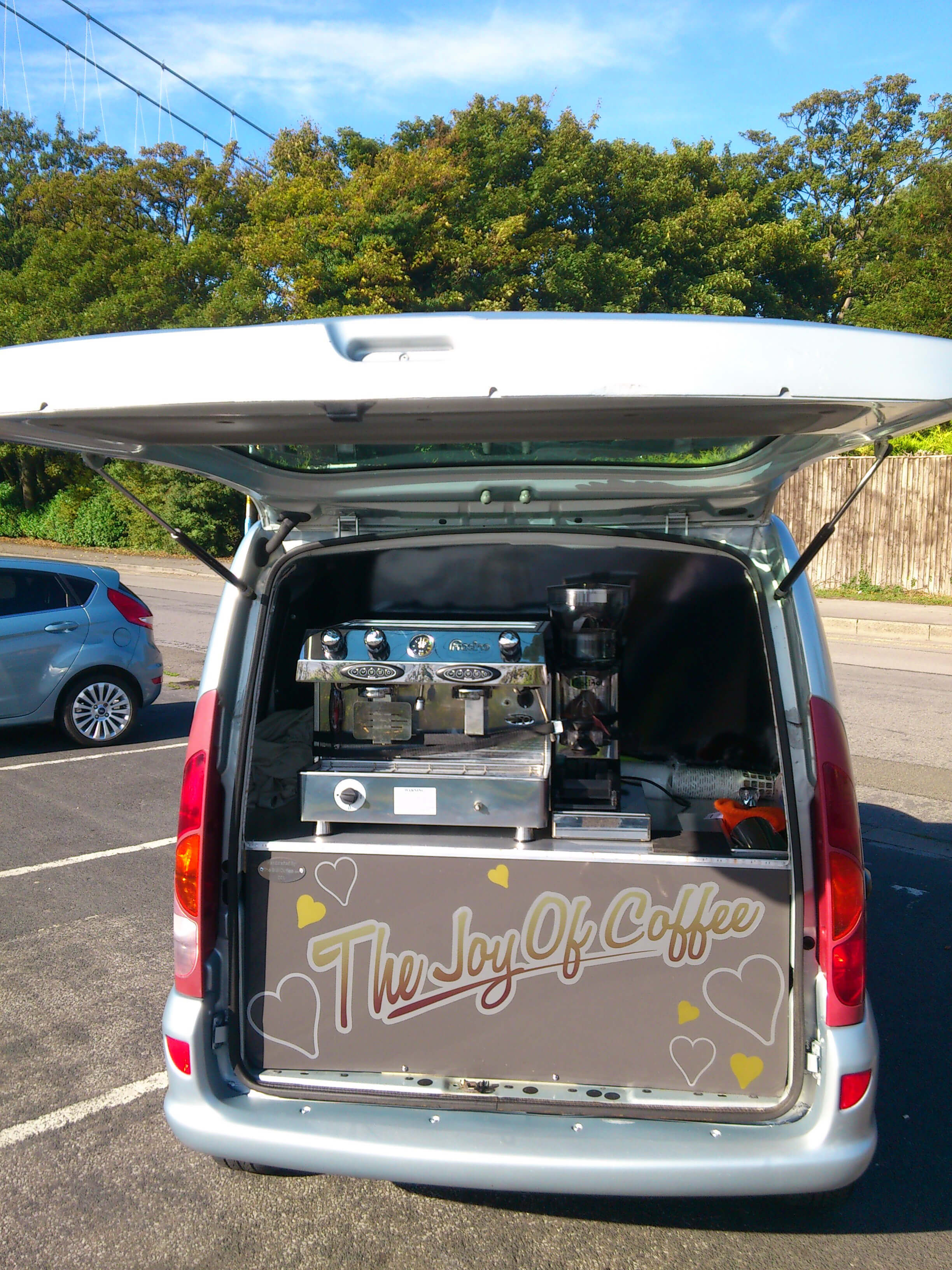 Renault Kangoo Coffee Conversion
