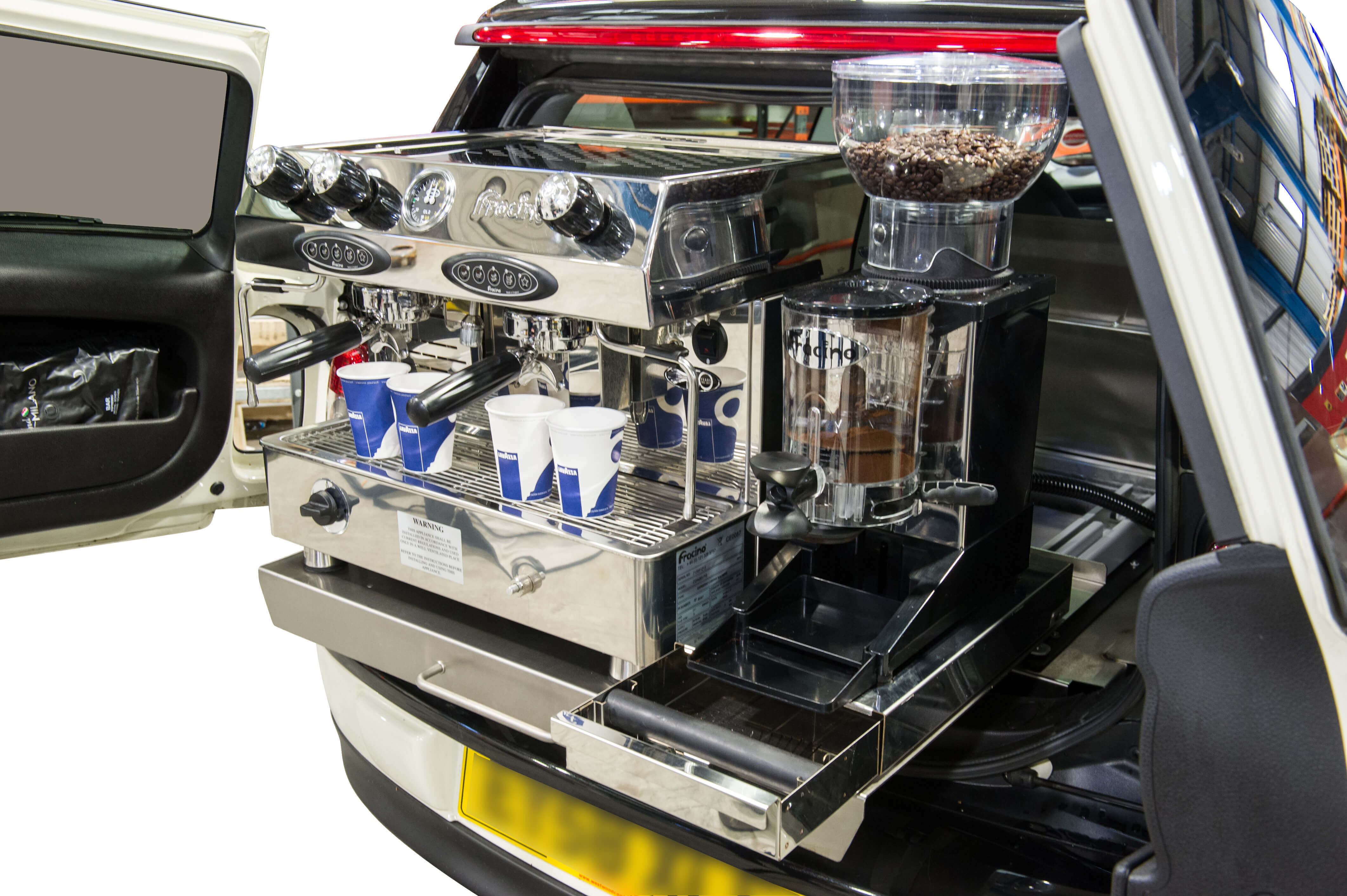 Mini Clubman Coffee Conversion