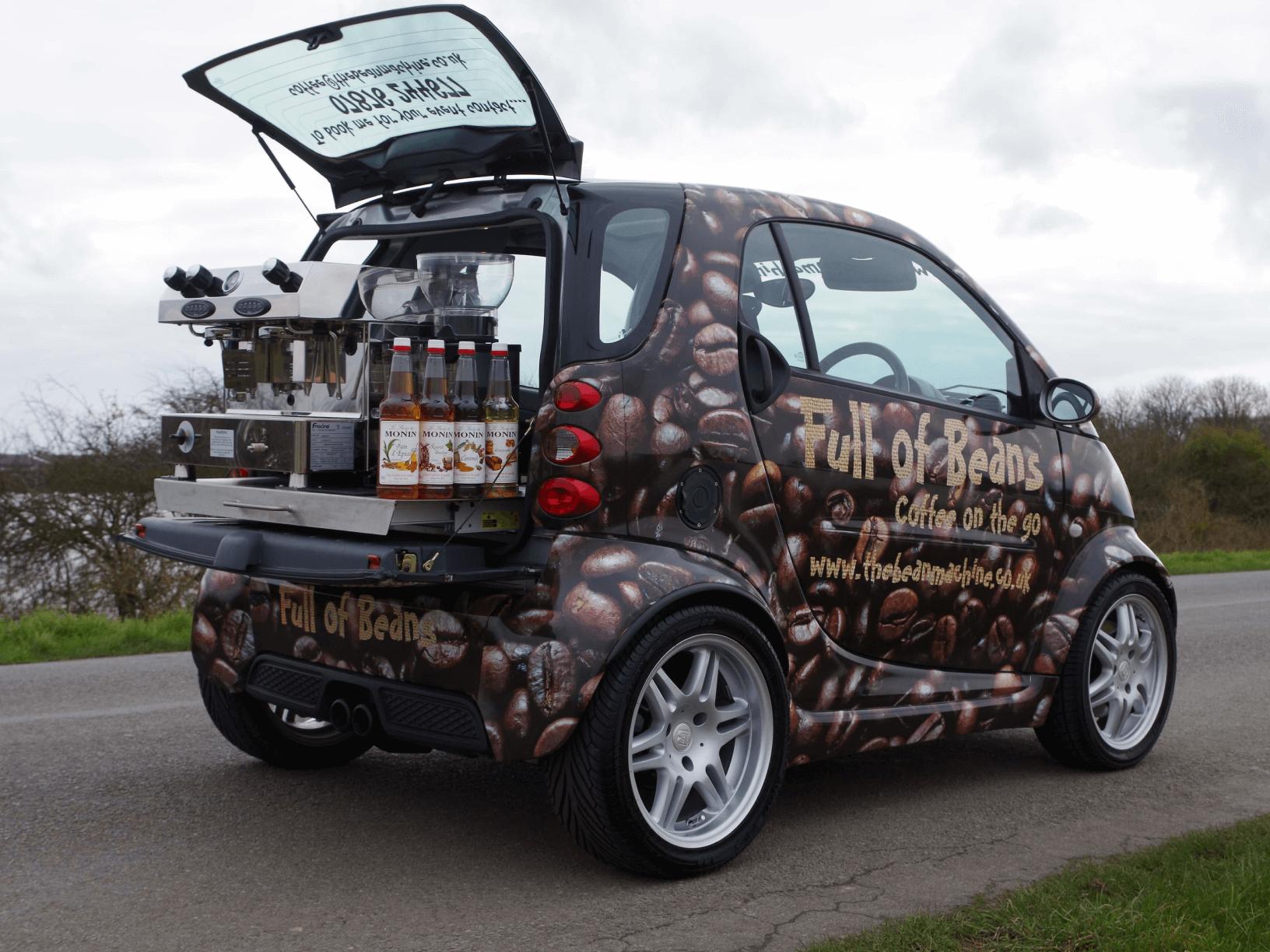 Smart Car Coffee Conversion