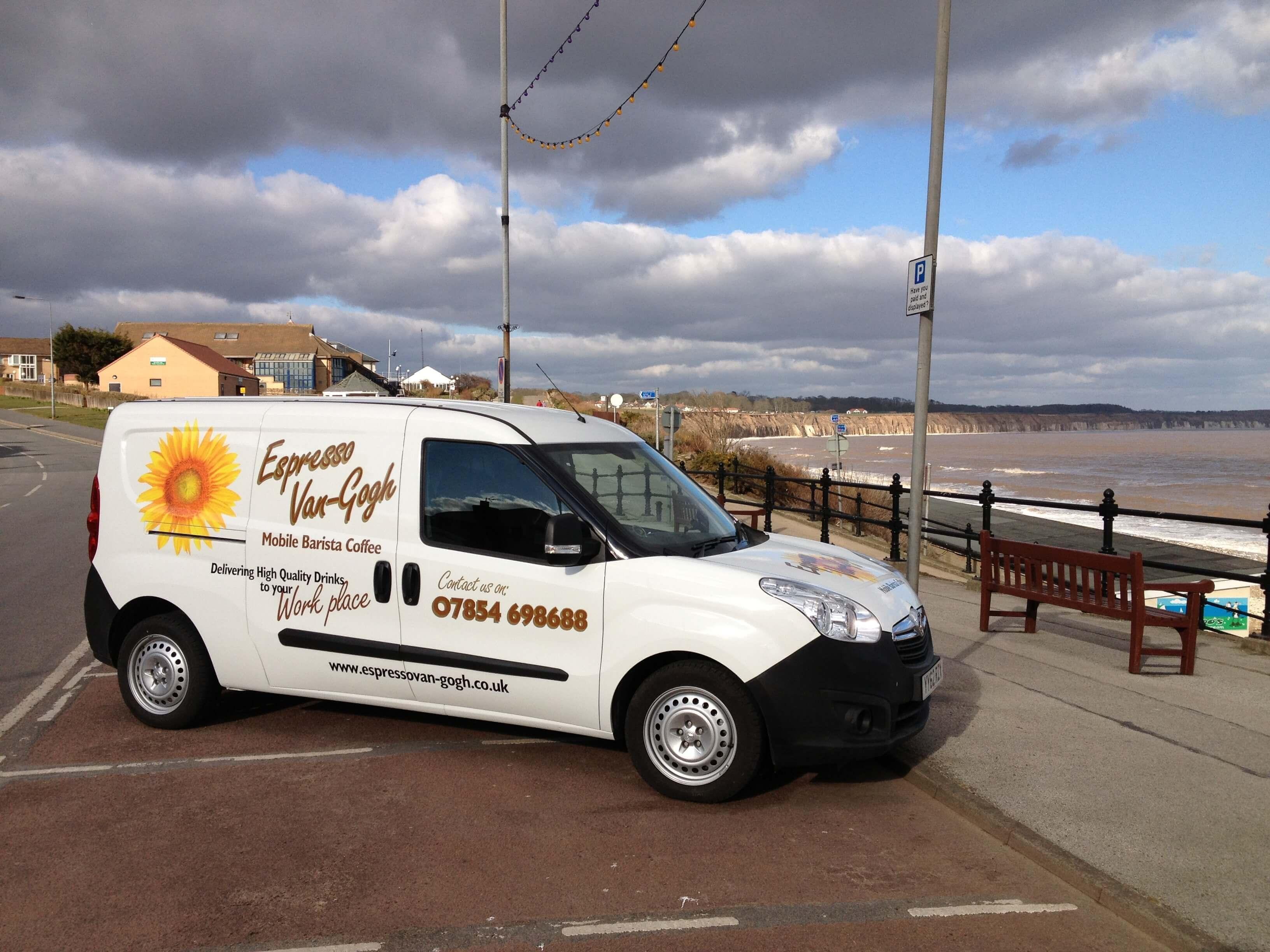 Vauxhall Combo Coffee Conversion