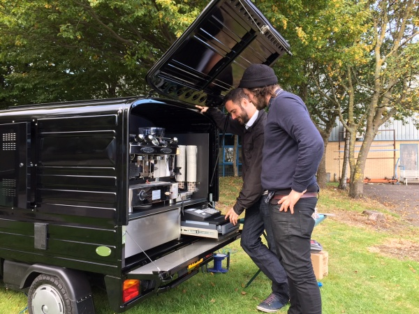 Piaggio Ape 50 - Coffee Conversion