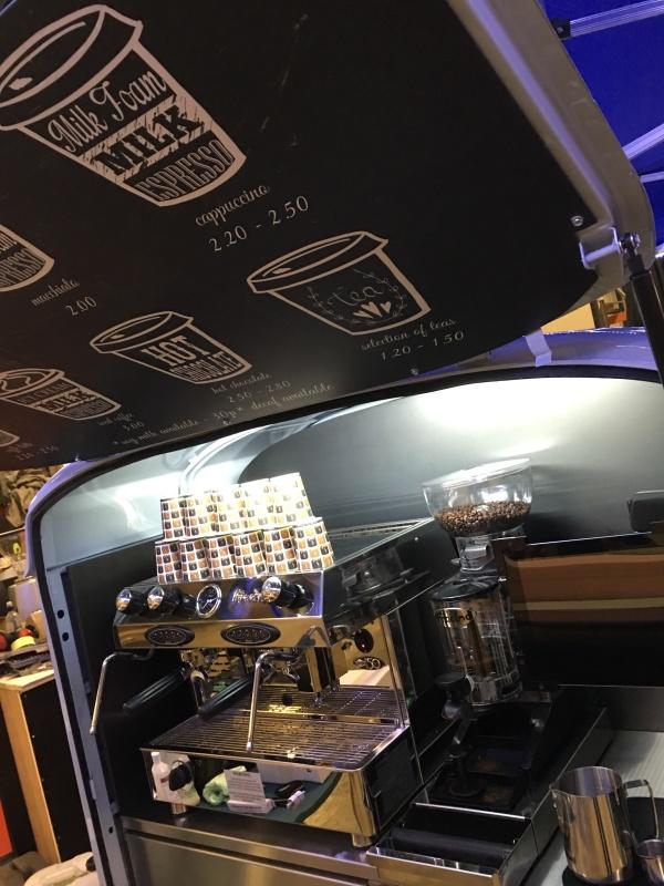 Ape Coffee Cart Conversion