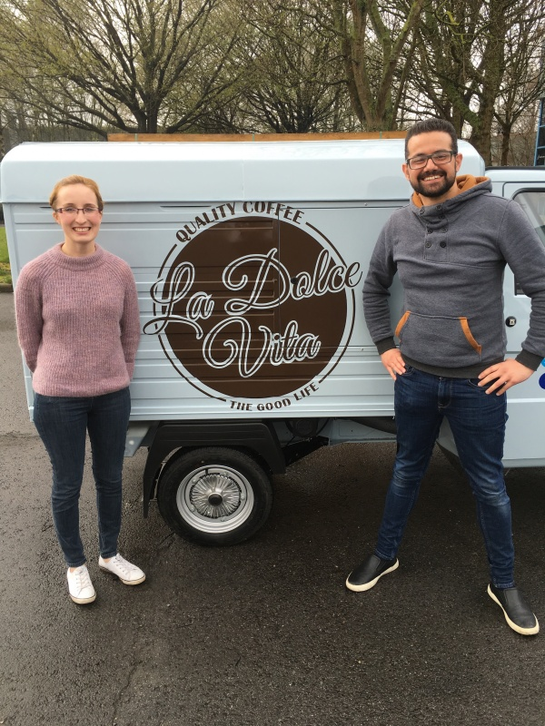 Ape Coffee Cart Conversion