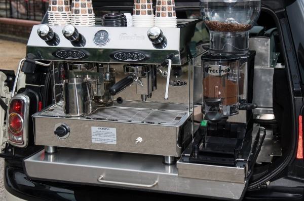 Fracino Coffee Machine - Coffee Conversion