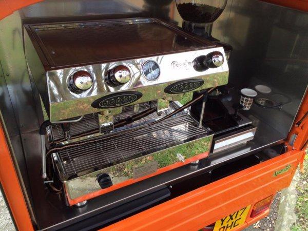 Fracino Coffee Machine - Mobile Coffee Bar