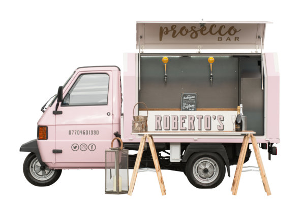 Prosecco Cart - Mobile Bar
