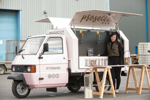 Roberto's Prosecco & Gelato Van