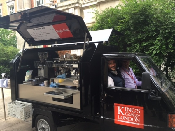 Ape Coffee Conversion - Kings College London