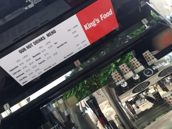 Ape Coffee Conversion - Kings College London
