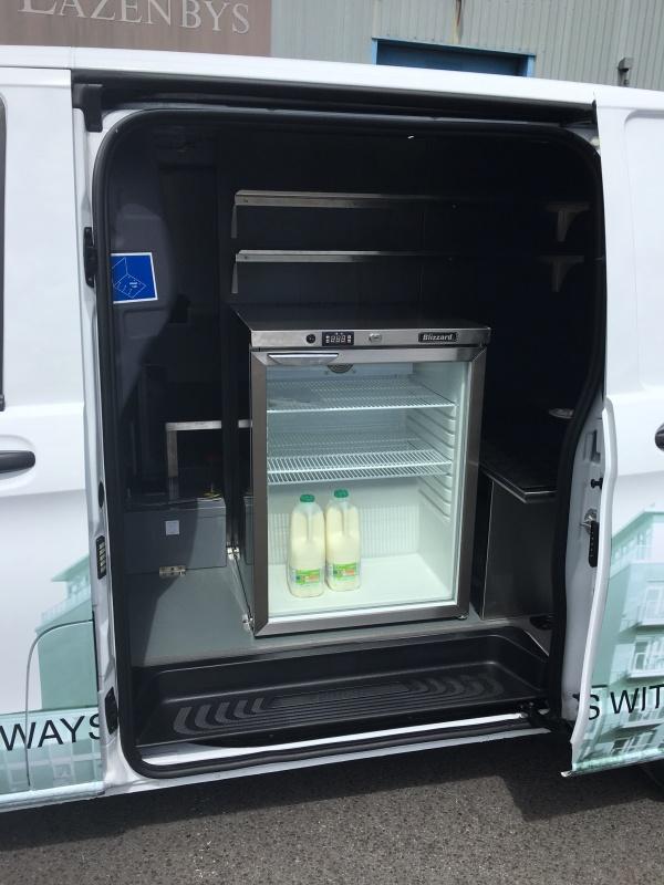 Mobile Coffee Van - Fridge