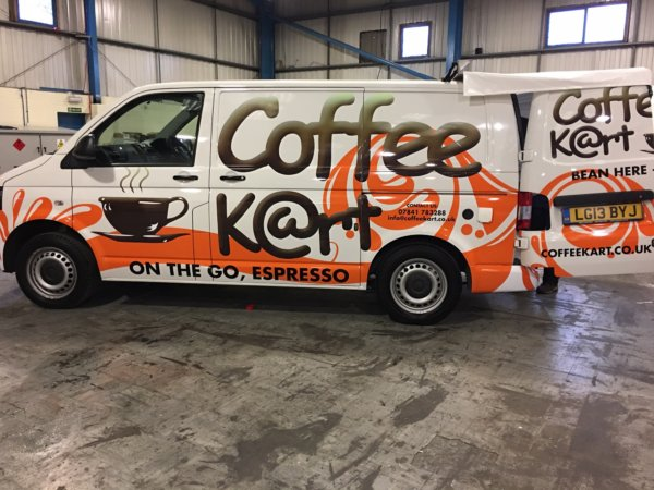 Mobile Coffee Van