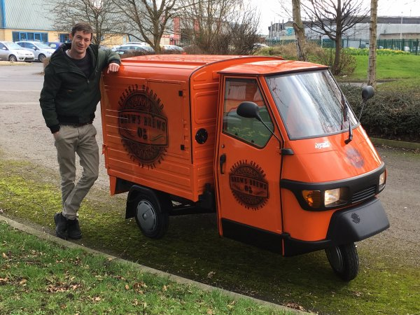 Mobile Coffee Bar - Piaggio Ape