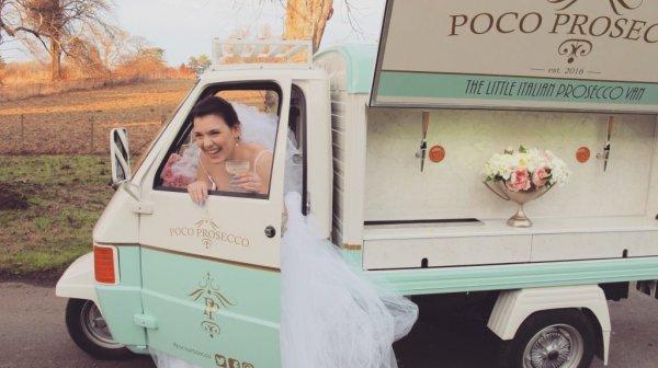 Mobile Prosecco Bar - Wedding