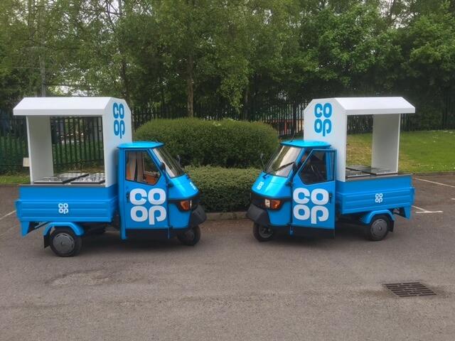 Ape 50 - Marketing Vehicles