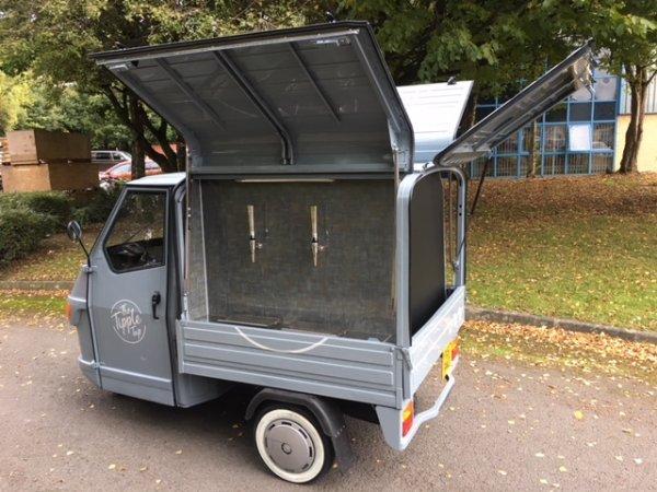 Prosecco Cart - Ape 50 - Piaggio