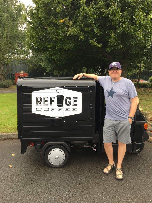 Ape 50 - Coffee Cart