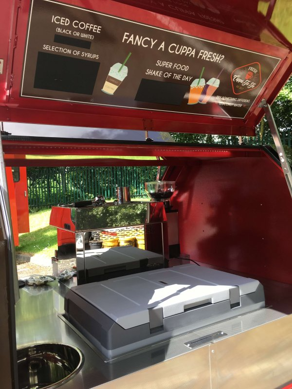 Fracino Coffee Machine - Piaggio Ape