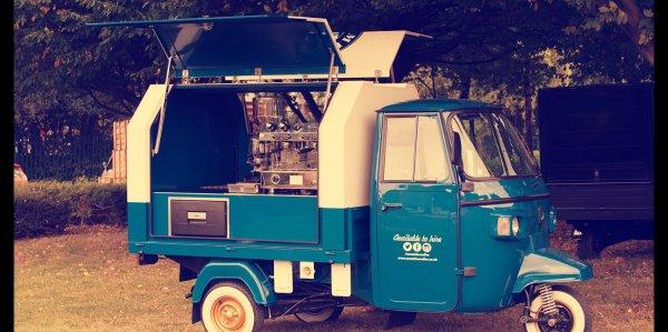 Piaggio Ape - Mumbles Coffee