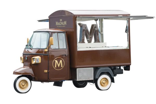 Ape Classic - Marketing Vehicle