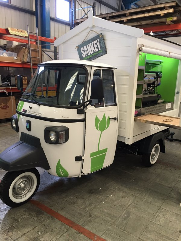 Mobile Coffee Bar - Piaggio Ape - Bespoke