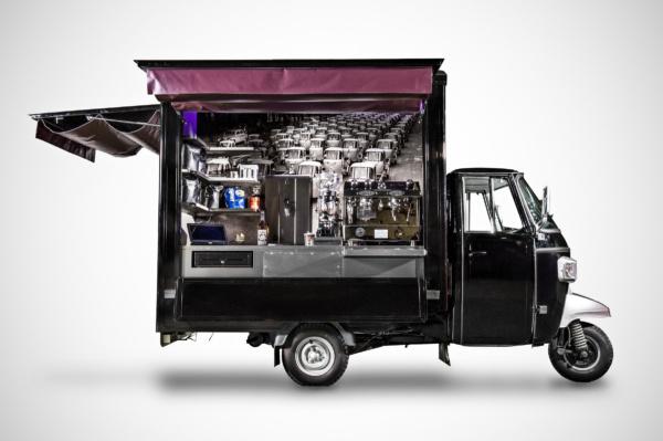 Piaggio Ape - Coffee Conversion