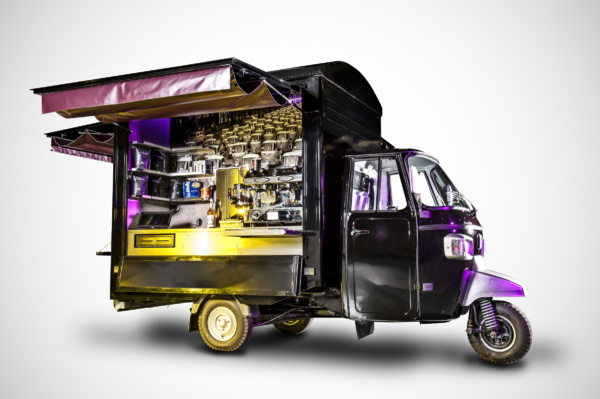 Piaggio Ape - Coffee Conversion