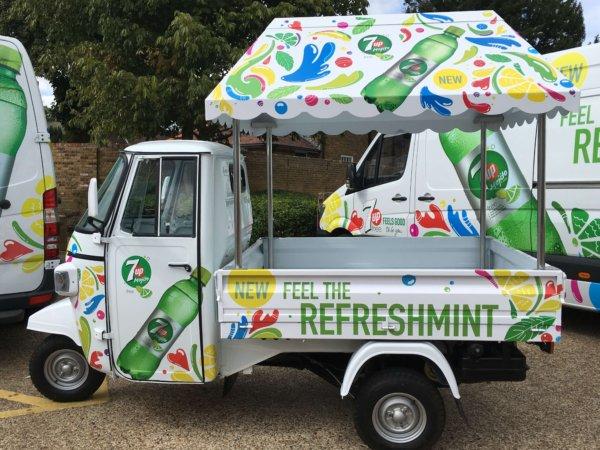 Piaggio Ape - Marketing Vehicles