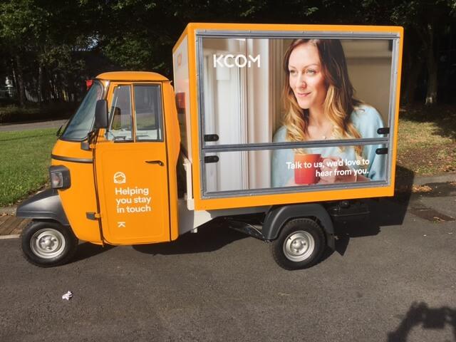 Piaggio Ape - Marketing Vehicle
