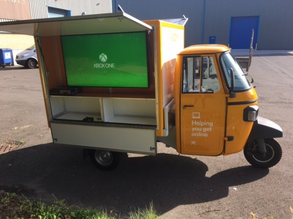 Piaggio Ape - Marketing Vehicle