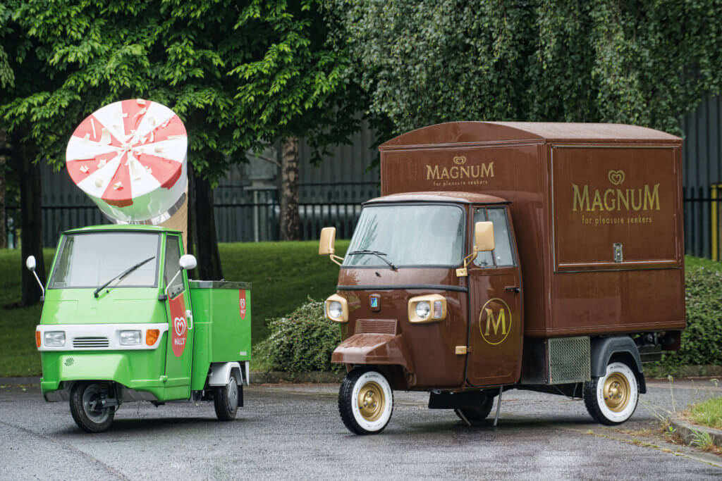 Ice Cream Van Conversions - Walls Magnum