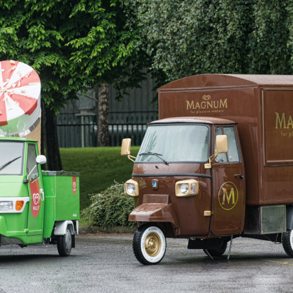Ice Cream Van Conversions - Walls Magnum